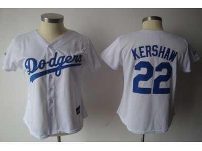 the best attitude 911d9 afa14 MLB Women Jerseys Los Angeles Dodgers #22 Kershaw white MLB ...