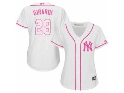huge selection of b6df8 b469d Women's Majestic New York Yankees #28 Joe Girardi Authentic ...