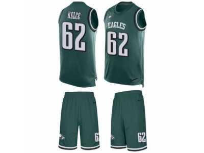 ... Men s Nike Philadelphia Eagles  62 Jason Kelce Limited Midnight Green  Tank Top Suit NFL Jersey 852bdd647