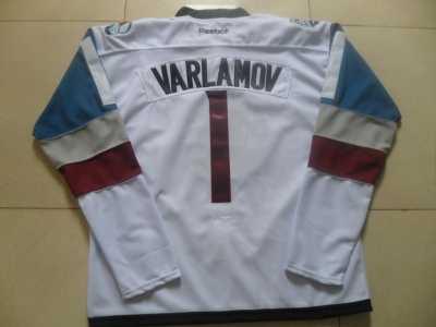 NHL Colorado Avalanche  1 Semyon Varlamov White 2016 Stadium Series Jerseys 57e3fd084