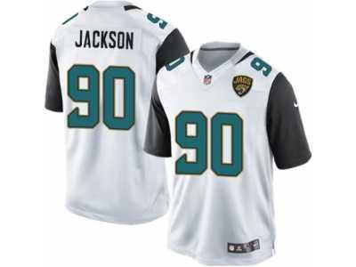 f2bbb58508c Men  s Nike Jacksonville Jaguars  90 Malik Jackson Limited White NFL Jersey