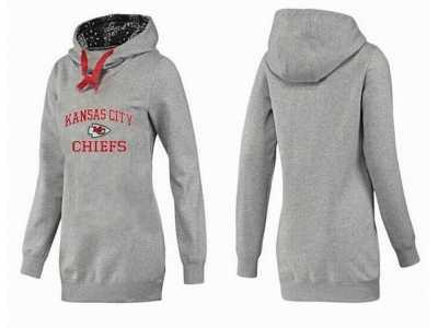 reputable site 5f338 84fa1 Women Kansas City Chiefs Pullover Hoodie-067 Women Kansas ...