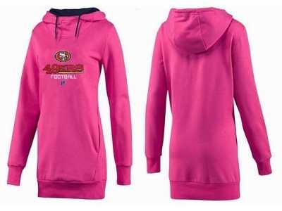 buy popular 9fc02 a63c0 Women San francisco 49ers Logo Pullover Hoodie-088 Women San ...