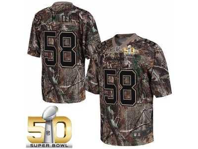 Discount Nike Denver Broncos #58 Von Miller Camo Super Bowl 50 Men's Stitched  for sale