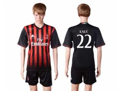 AC Milan #22 Kaka Home Soccer Club Jersey AC Milan #22 Kaka Home  free shipping