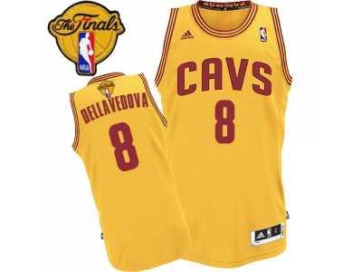 Men  s Adidas Cleveland Cavaliers  8 Matthew Dellavedova Swingman Gold  Alternate 2016 The 7edb28672