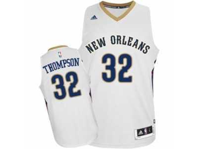 5f6289729 Men  s Adidas New Orleans Pelicans  32 Hollis Thompson Authentic White Home  NBA