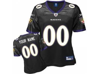 baltimore ravens jersey black
