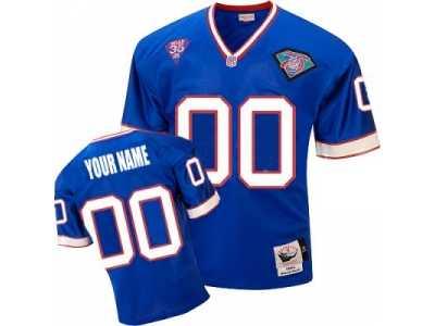 32f312a284b Customized Buffalo Bills Jersey Throwback Team Color Football ...