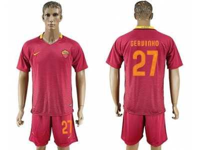 09e094dc2 Roma  10 Totti Home Kid Soccer Club Jersey Roma  10 Totti Home Kid ...
