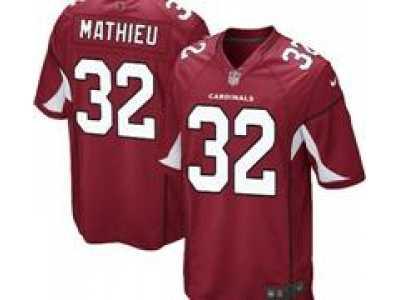 more photos 7b069 6882f Nike NFL Arizona Cardinals  32 Tyrann Mathieu Red Jerseys(Game)