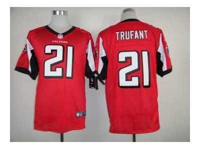 3f8b006b9 Nike atlanta falcons  21 desmond trufant red jerseys Elite  Nike ...