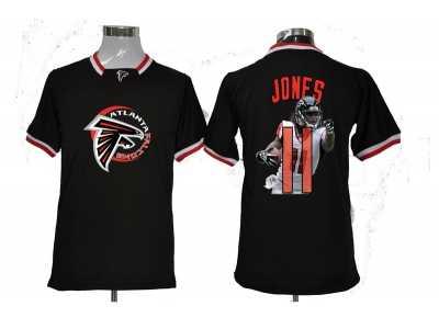 separation shoes 0d753 3ae3b Nike NFL Atlanta Falcons #11 Julio Jones black jerseys[all ...