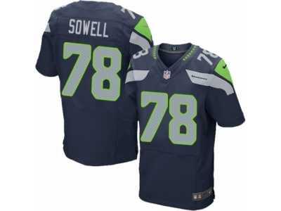4d55a3af Men's Nike Seattle Seahawks #79 Ethan Pocic Elite Green Rush NFL ...