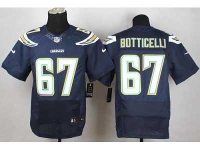 5ada69406 Nike San Diego Chargers  67 Cameron Botticelli Navy Blue jerseys(Elite)