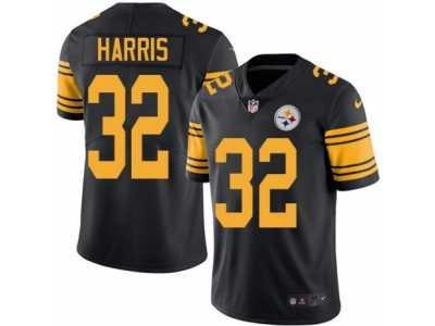 4cfde98eef8 Men  s Nike Pittsburgh Steelers  32 Franco Harris Elite Black Rush NFL  Jersey