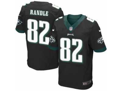 Men s Nike Philadelphia Eagles  82 Rueben Randle Elite Black Alternate NFL  Jersey 2ad2f7430