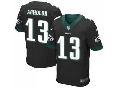 Nike Philadelphia Eagles  13 Nelson Agholor Black Alternate Men s Stitched  NFL New Elite Jersey 4ec624165