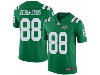 d2bad25d612c9 Men s Nike New York Jets  88 Austin Seferian-Jenkins Elite Green Rush NFL  Jersey