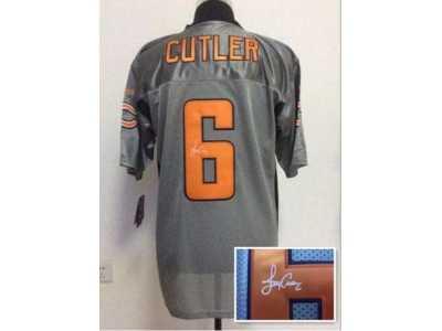 Hot Nike chicago bears #6 Jared cutler grey jerseys[Elite shadow  hot sale