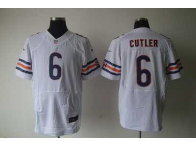 d518bb850 Nike nfl chicago bears  6 Cutler Authentic white Elite jerseys Nike ...