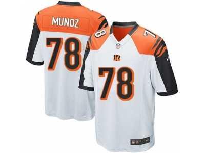 05804c9018c Men  s Nike Cincinnati Bengals  78 Anthony Munoz Game White NFL Jersey