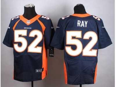 Wholesale Men's Nike Denver Broncos #51 Todd Davis Elite Orange Team Color NFL