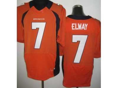 Nike NFL Denver Broncos  7 John Elway orange Jerseys Elite  Nike NFL ... ed3a19406