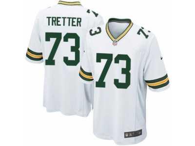 low priced 22ecd c5802 Men's Nike Green Bay Packers #73 JC Tretter Game White NFL ...
