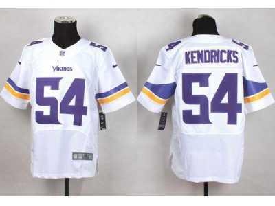 timeless design e17ab 8a4a1 Nike Minnesota Vikings #54 Eric Kendricks White Men's ...