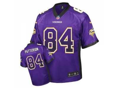 de89fe14b3a31 australia nike minnesota vikings 84 cordarrelle patterson purple  jerseyelite drift fashion 218e7 ba096