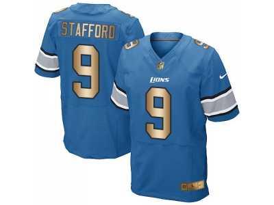 Nice Nike jersey detroit lions #20 b.sanders blue white[Elite II drift  free shipping