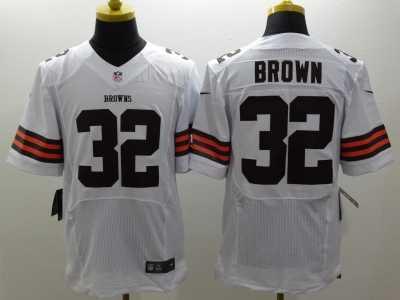 new style c1c93 63778 Nike Cleveland Browns #32 Jim Brown Orange white Jerseys ...
