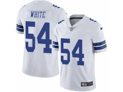 edd8d441801 Men's Nike Dallas Cowboys #54 Randy White Vapor Untouchable Limited White  NFL Jersey