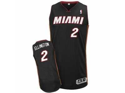 039738b29 ... where to buy mens adidas miami heat 2 wayne ellington authentic black  road nba jersey 48cb0