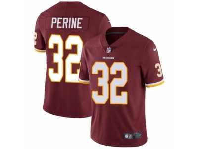Men s Nike Washington Redskins  32 Samaje Perine Vapor Untouchable Limited  Burgundy Red Team Color NFL 1b5d90734