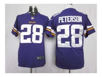 size 40 d6707 7bab1 Nike NFL Minnesota Vikings #28 Adrian Peterson Purple ...