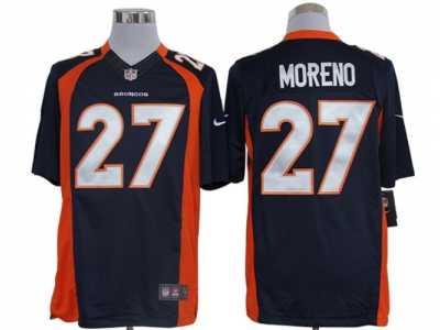 Wholesale Nike Denver Broncos #10 Emmanuel Sanders Orange Team Color Men's  free shipping