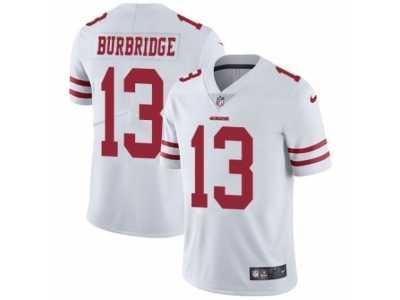 low priced d814f e38c5 Men's Nike San Francisco 49ers #13 Aaron Burbridge Vapor ...