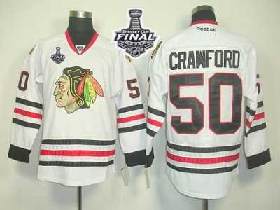NHL Chicago Blackhawks  50 Corey Crawford White 2015 Stanley Cup Stitched  Jerseys 1ab971e9c