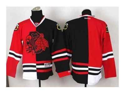 df96579d8 nhl jerseys chicago blackhawks blank black-red[split][the skeleton head]