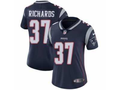 2c53d29bc Women's Nike New England Patriots #37 Jordan Richards Vapor Untouchable  Limited Navy Blue Team Color