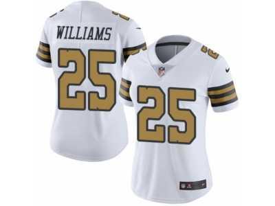 02c8dca65 Women s Nike New Orleans Saints  25 P. J. Williams Limited White Rush NFL  Jersey