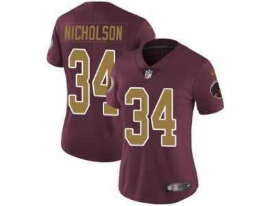 Women's Nike Washington Redskins #34 Montae Nicholson Vapor  hot sale