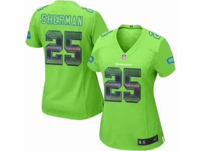 the latest ceb47 d89f8 Women's Nike Seattle Seahawks #25 Richard Sherman Limited ...