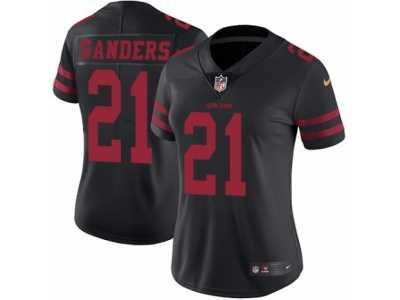 newest df143 5cdeb Women's Nike San Francisco 49ers #21 Deion Sanders Vapor ...
