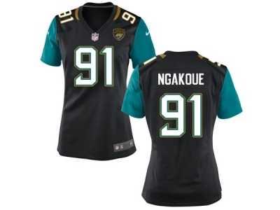 1da313e18 Women s Nike Jacksonville Jaguars  91 YAnnick Ngakoue Black Alternate NFL  Jersey