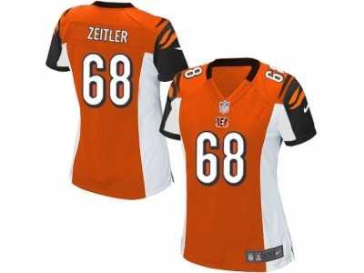 factory price 4f61d 94f0b Women's Nike Cincinnati Bengals #68 Kevin Zeitler Game ...