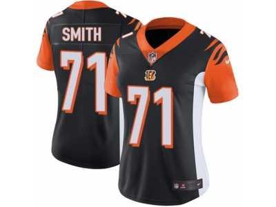 6c8e8d182 ... Women s Nike Cincinnati Bengals  71 Andre Smith Vapor Untouchable  Limited Black Team Color NFL Jersey