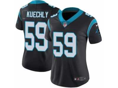 6bd74eef2 Women s Nike Carolina Panthers  59 Luke Kuechly Vapor Untouchable Limited  Black Team Color NFL Jersey